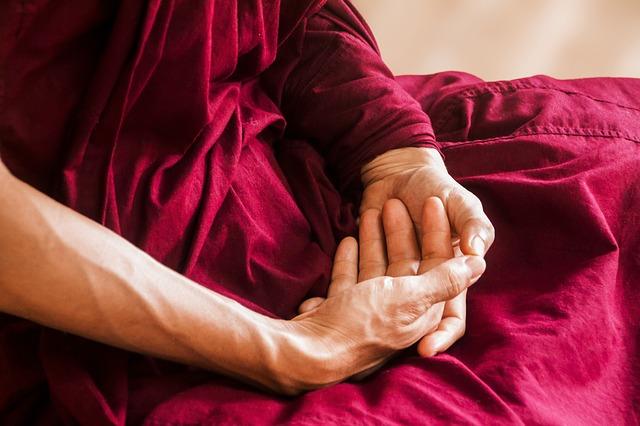 瞑想で心を浄化