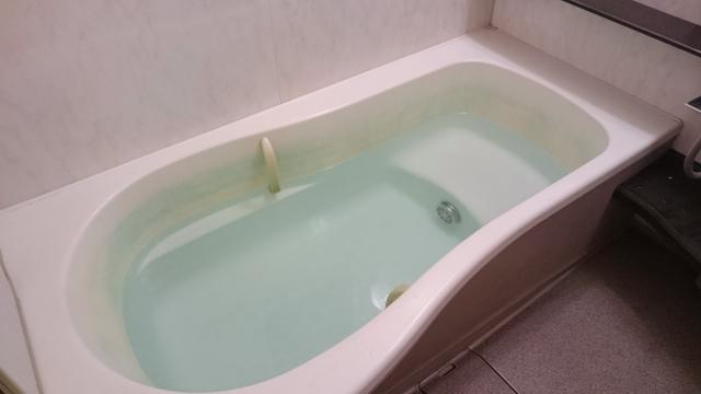 塩と日本酒の風呂