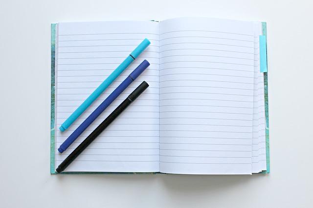 自己啓発ノートの作り方