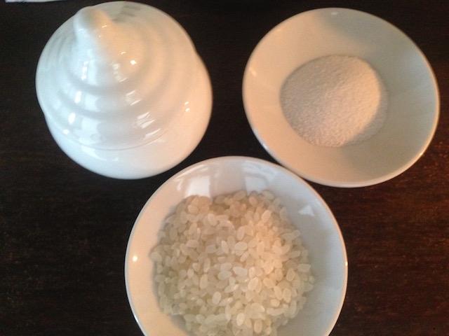 神棚は米が真ん中