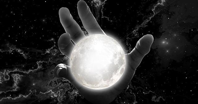 宇宙のエネルギーをキャッチする