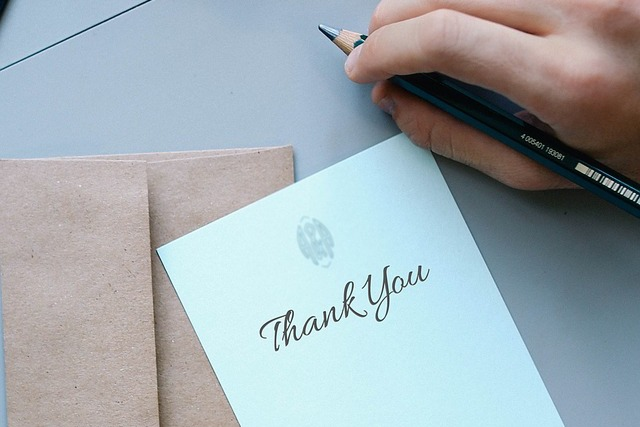 病気への感謝の手紙