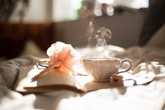 紅茶を飲んでリラックス