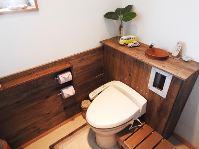 自宅のトイレ